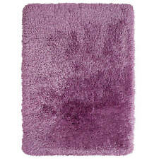 Think Rugs Montana Hand Tufted Heavy Weight Shaggy Pile Rug Lilac 120x170cm (4x6')