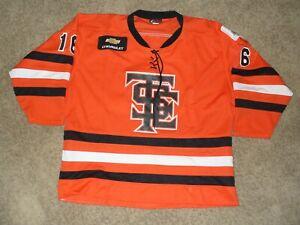 BCHL Trail Smoke Eaters Vintage Game Worn Hockey Jersey Jason Shaffer #16