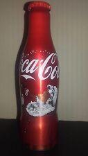 Coca cola 0,25l alu bottle Christmas Santa-Croatia Empty bottle with cap