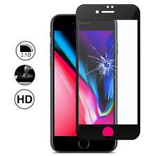 "Displayschutzfolie Hartglas Bord Gebogen schwarz Apple iPhone 8 plus 5.5"""