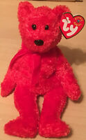 Ty Beanie Baby 2001 Sizzle the Bear With Tags