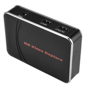 EZCAP HDMI Video Capture Grabber Card 1080P HD Video Recorder to USB Flash & MIC