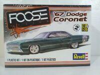 Revell '67 Dodge Coronet Foose Design Series 1:25 Scale Model Kit # 85-4906