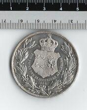 German States Brunswick-Wolfenbuttel William 1856 Silver Coin 2 Thaler 3½ Gulden