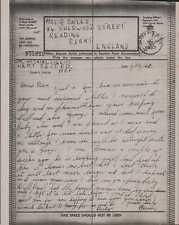 G Bailey. 84 Sherwood Street, Reading. 1942. Hopkins 2146301. Airgraph.  BG.460