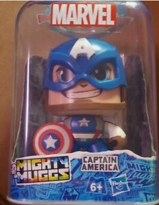 Marvel Mighty Muggs Captain America.#01.