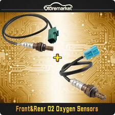 2pcs Oxygen O2 Sensor 1 2  Upstream Downstream For 2002 2003 Nissan Altima 3.5L