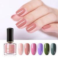 BORN PRETTY 6ml Pure Tips Nail Polish Water-based Nail Art Varnish Manicure