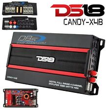 DS18 CANDY-X4B 4 Channel Fullrange Amplifier 1600W Max Class D Mini Speaker Amp
