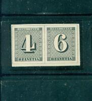 Schweiz, 100 Jahre Briefmarken, aus Block 8 Nr. 417 - 418 Postfrisch **