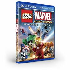 LEGO:MARVEL SUPER HEROES UNIVERSE IN PERIL VITA ACT NEW VIDEO GAME