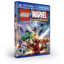 LEGO Marvel Super Heroes - Universe in Peril (Sony PlayStation Vita, 2013)