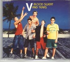 (DY762) V, Blood Sweat And Tears - 2004 DJ CD