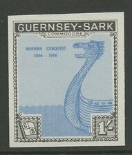 Guernsey SARK 1967 Norman Conquest Imperf PROOF UM