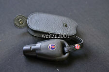 Leather pouch/case SAAB 93 95 9-3 9-5 FOB  Black case
