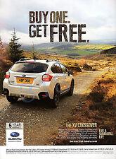 SUBARU XV Crossover Car ADVERT - 2014 Advertisement