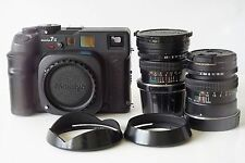Mamiya 7 II Medium Format Rangefinder Film Camera with 50mm and 80mm lenses