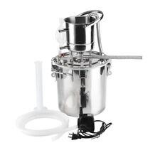 20L Home Casa Distillatore Acqua per Oli Essenziali Grappa Alambicco Acciaio
