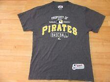 MLB Pittsburg Pirates T-Shirt, Grey M Medium