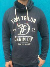 Tom Tailor Herren Sweatshirt-Pullover  navy Gr. L NEU