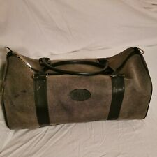 Retro Large time  holdall weekend overnight , Travel Time Bag.