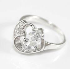 Echt 925 Sterling silber Ring, Zirkonia Steinen, Damenring