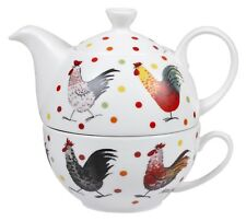 Alex Clark Rooster Tea For One Set Fine China