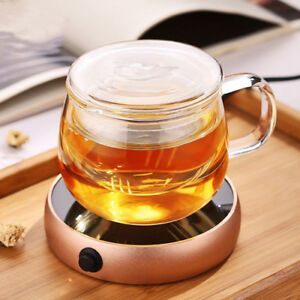 Warmer Desktop Coffee Cup Tea Milk Heater Mug Pad Portable Electric Kitchen Tool