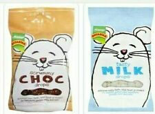 More details for pack of 2- choc and milk drop treats for hamsters, mice and rats- 50gm