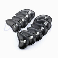 NEW 10X Skull Golf Club Headcovers Head Covers Iron Protector For Cleveland PING