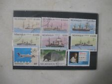 NICARAGUA , 'CULTURE FUND'  TOP QUALITY,  F/USED, POST PAID