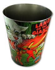 New! Land Of The Giants Metal Wastebasket! Retro Cool! Irwin Allen Spindrift