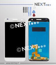 Schermo Display touch screen Huawei G7 bianco + biadesivo + kit riparazione