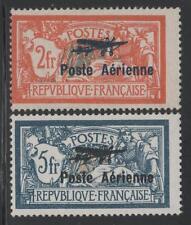 "FRANCE POSTE AERIENNE 1/2 "" MERSON 2F+5F SALON AVIATION 1927 "" NEUFS xx TB K781"