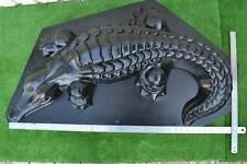 MOLD Casting CROCODILE  DECORATIVE Concrete Decor GARDEN  MOLD Alligator #A06