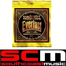 Ernie Ball E 2558 Acoustic Guitar String Set Everlast 11 to 52 Light Strings