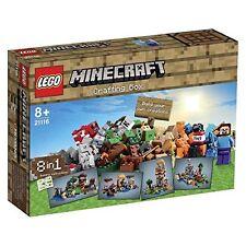 LEGO MINECRAFT  21116. CRAFTING BOX. MESA DE TRABAJO. SET NUEVO Y PRECINTADO