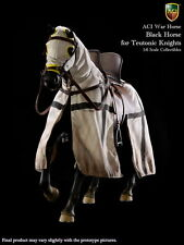 "ACI Toys 1/6 scale Black War Horse For 12"" Teutonic Knights ACIH03A"