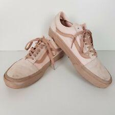 J8 Pink Ladies Vans suede/cotton UK10 USED