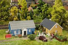 2 Ferienhäuser, Faller Miniaturwelten Bausatz H0 (1:87), Art. 130506
