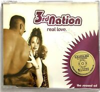3RD NATION :REAL LOVE - [ CD MAXI REMIX ]