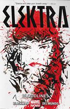 Elektra Vol 1: Bloodlines & Vol 2: Reverence by Blackman & Del Mundo TPBs Marvel