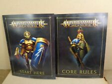 ML Warhammer Age of Sigmar  Soul Wars Core Rules Start Playing Booklett