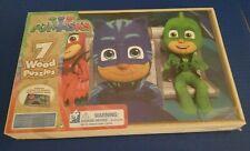 PJ Masks 7 Wood Puzzles