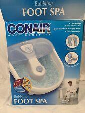 Conair Body Benefits Bubbling Foot Spa with Heat & Bubbles Model FB10SC