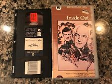 INSIDE OUT VHS! 1975 Thriller! Sabotage The Boys From Brazil Horror Express