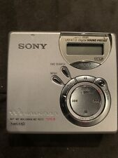 Vintage Sony Md Minidisc Walkman Recorder Mz-N510 Comes With Everything !