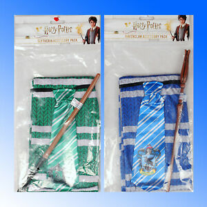 Harry Potter Wand Scarf Tie Dressing Up Official Accessory Set  Fancy Dress