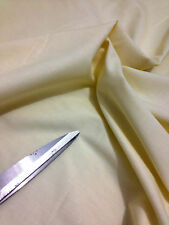 "Ecru/Cream Extra Wide 70""-178 cm Poly Cotton 50%-50% Sheeting Fabric*NEW*"