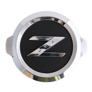 Chrome Black Z Nameplate Car Front Rear Trunk Emblem for 350Z 370Z Fairlady Z33